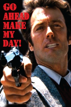clint eastwood make my day