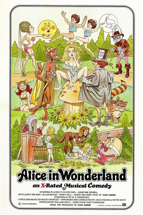 Alice In Wonderland (X- Rated)