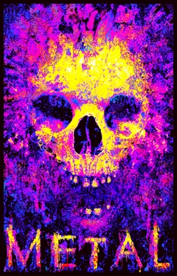 Metal To The Bone Blacklight