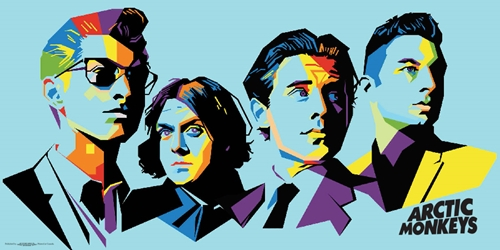 Arctic Monkeys 12x24