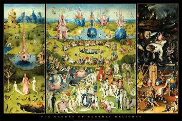 Bosch Garden of Earthly Delights