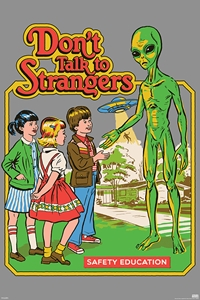 Don't Talk To Strangers alien
