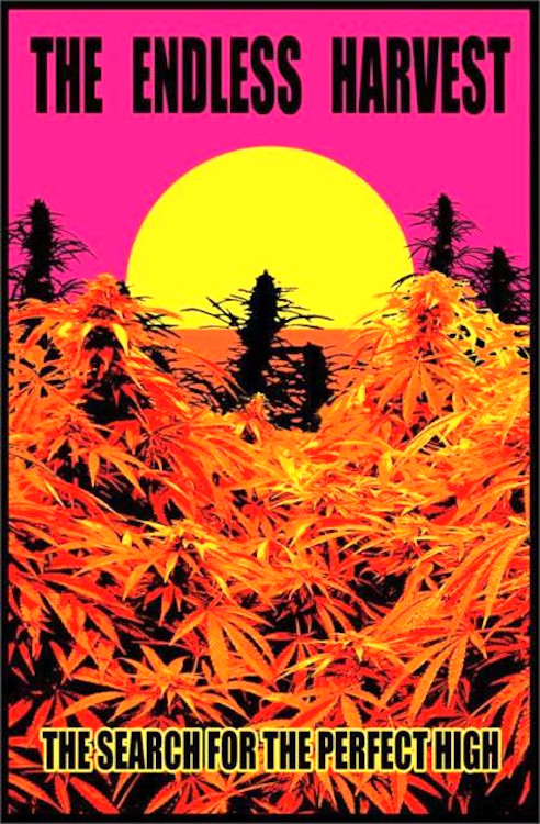 Endless Harvest Blacklight Poster 23 x 35