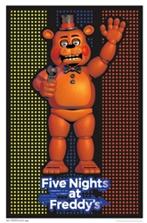 Five Nights At Freddys Blacklight