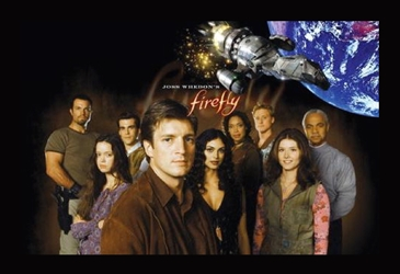 Framed Mini Poster - Firefly