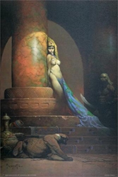 Frazetta Egyptian Queen