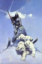 Frazetta Silver Warrior