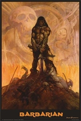 Frazetta The Barbarian