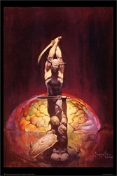 Frazetta The Brain
