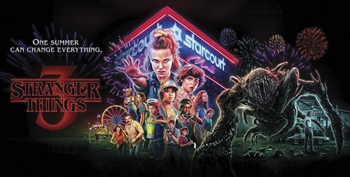 Stranger Things 3 (Slim) 12x24