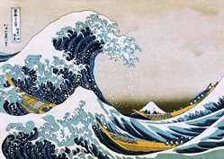 GIANT SIZE Hokusai Great Wave