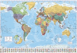 GIANT SIZE World Map