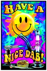 Have A Nice Dab Blacklight