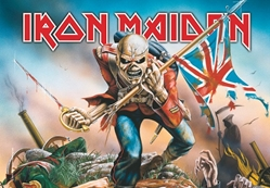 Iron Maiden Fabric Flag