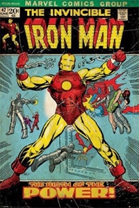 Iron Man wp, marvel
