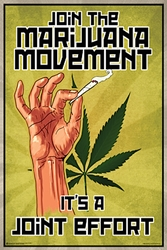 Join The Marijuana Movement weed, pot, reefer, marijuana cannabis