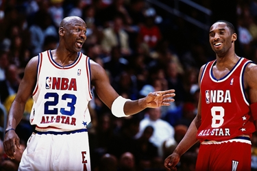 Jordan & Kobe wp chicago bulls los angeles lakers