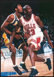 Jordan & Kobe jj chicago bulls los angeles lakers