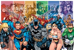 Justice League of America  Superman, Batman, Wonder Woman