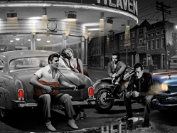 Legendary Crossroads marilyn, elvis, dean, bogart