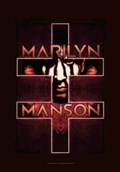 Marilyn Manson Fabric Poster Flag