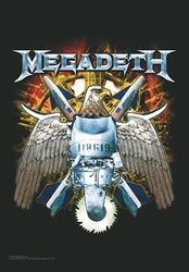 Megadeth Fabric Poster Flag