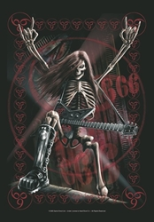 Metal Head Fabric Poster Flag