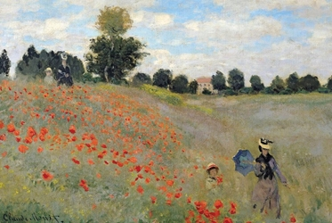 Monet In The Field