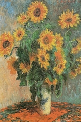 Monet Sunflowers