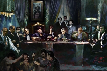 Movie Gangsters scarface, godfather, goodfellas, sopranos, mafia, jj