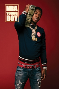 NBA YoungBoy rap, hip hop,