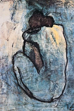 Picasso Blue Nude
