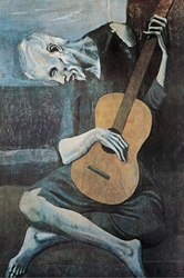 Picasso Old Guitarist