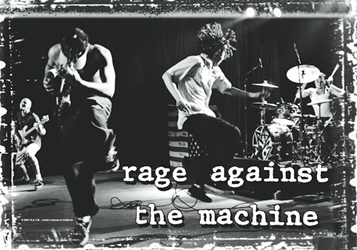 Rage Against The Machine Fabric Poster Flag