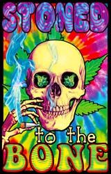 Stoned To The Bone Blacklight