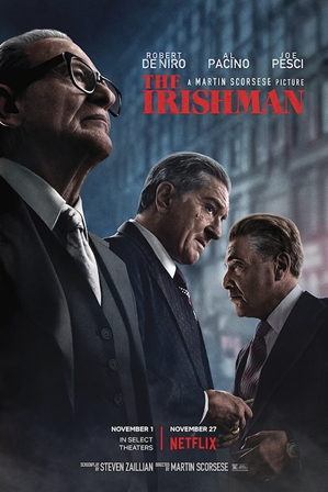 The Irishman gangster, mafia, deniro, pacino,