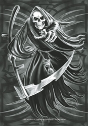 Reaper Fabric Poster Flag