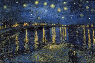 Van Gogh Starlight Over Rhone