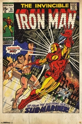 Iron Man Vs Sub Mariner